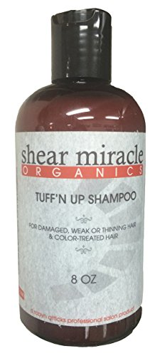 (Tuff'n up Shampoo (Strengthens Weak, Damaged or Thinning Hair) Vegan, Gluten Free, GMO Free, No Animal Testing.)