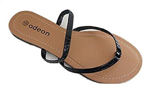 Odeon , Damen Sandalen schwarz schwarz