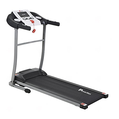 Powermax Fitness TDM-98 (1.75HP), Light Weight, Foldable Motorized Treadmill for Cardio Workout at...