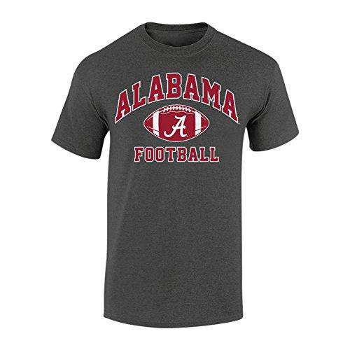 Alabama Crimson Tide Football TShirt Charcoal - L