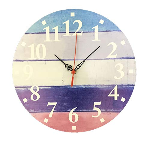 Creative Motion 22411-1 Wall Clock, Multi/Color