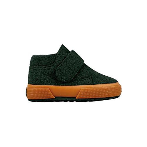 Superga S001NW0 - Zapatos de cordones para niños Green Pine