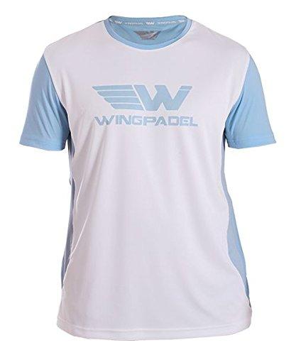 Wing Padel Maglietta Lalo Cielo Blu