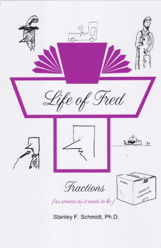 - Life of Fred Fractions to Pre-Algebra 5-Book Set : Fractions, Decimals and Percents, Elementary Physics, Pre-Algebra 1 with Biology, and Pre-Algebra with Economics