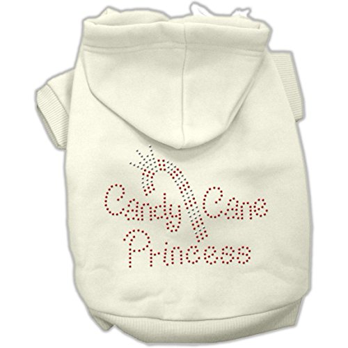 Candy Canes Hoodies Cream - Candy Cane Princess Hoodies Cream XL (16)