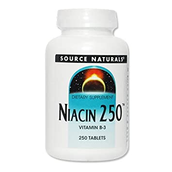 Source Naturals - mg. niacina 250 vitamina B-3 250 - 250 ...