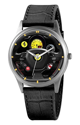 Reloj Cuadro de Ferrari