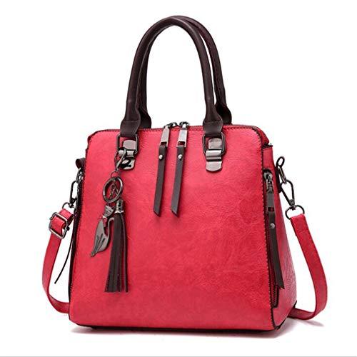 bandoulière Size à One Sacs Red Khaki 4If5xq
