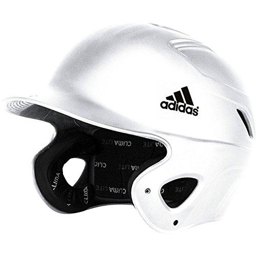 Away Adult Batting Glove - adidas S98297 Glossy Phenom Batting Helmet, White, Large/X-Large
