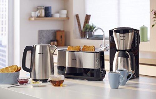 Philips HD7546/20 Gaia Filter-Kaffeemaschine mit Thermo-Kanne, schwarz/metall 2