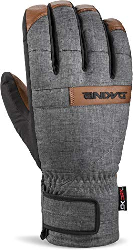 Dakine Men's Nova Short Gloves, Carbon, L - Mens Pipe Glove