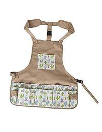 Waterproof Apron with Pockets - Work Cloth - Adjustable Bib Butcher Apron - Best for DishWashing, Lab Work, Butcher, Dog Grooming, Gardening