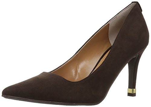 chocolate brown pumps - 2