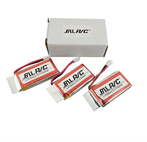 Fytooアクセサリー3PCS 3.7V 600mAh 802540バッテリーSYMA X5C-1 X5C X5 X5SC X5SW H9D H5C RCクアドコプターヘリコプタードローンバッテリースペアパーツ B075R3MNCK