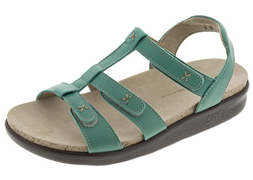 SAS Sorrento Women's Sandals (9 M (M) (B) US, Turquoise)
