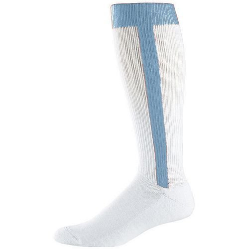 LIGHT BLUE Adult Baseball/Softball Stirrup and Sock -