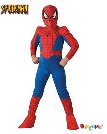 Deluxe Kids Spiderman Costume