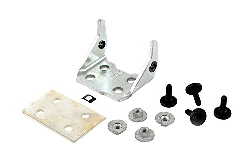 Front Hinge Pin Plate - Genuine GM Parts 88979797 Passenger Side Front Door Side Lower Door Hinge Kit with Hinge, Backing Plate, Studs, Nuts, and Pin