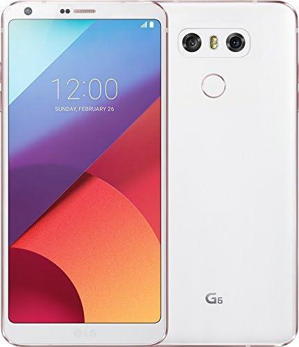 LG Mobile G6Smartphone (14,5cm (5,7pollici) QHD Plus Full Vision Display, memoria 32GB, Android 7.1) Bianco [EU]