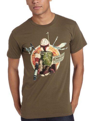 Mad Engine Men's Planet Rock T-Shirt, Military Green, Small