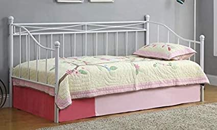 Amazon.com: Daybed Frame Twin - White Metal Needs Link ...