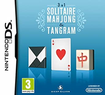 Amazon.com: Solitaire, Mahjong y Tangram: 3-in-1 (NDS ...