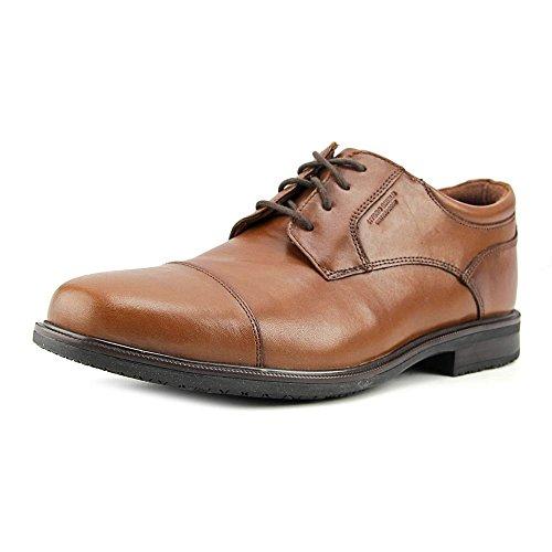 Rockport Men's Esntial Dtlii Captoe Shoes Tan Antique many kinds of sale online for cheap price WQNuf