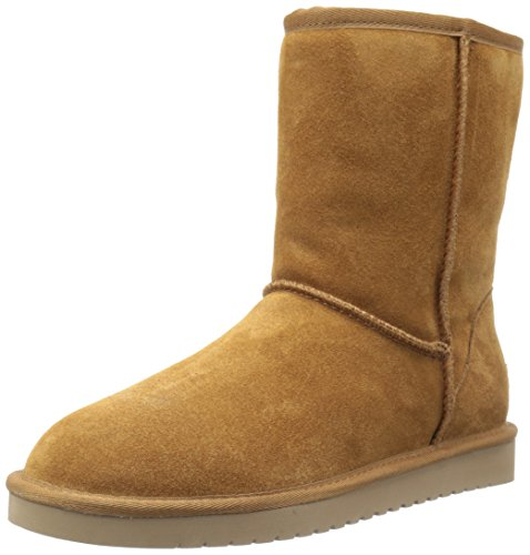 (Koolaburra by UGG Women's koola Short Fashion Boot, Chestnut, 08 M US)