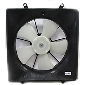 New Radiator Cooling Fan Assembly For 06-11 Honda Civic Coupe 2.0L 19030RRAA01