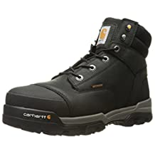 Carhartt Men's Ground Force 6-Inch Black Waterproof Work Boot - Composite Toe, Black Oil Tanned,  10.5 W US - New For 2017 - CME6351