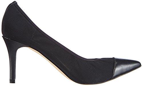 CAFèNOIR Sabot - Sandalias de vestir de piel para mujer negro - Schwarz (010 NERO)