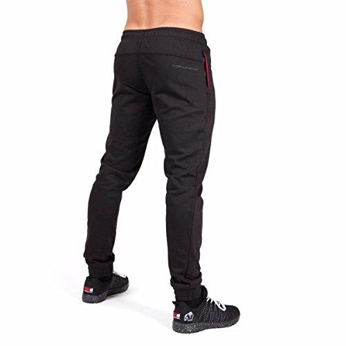 Gorilla Wear Classic Joggers - Black schwarz - Bodybuilding und Fitness Hose für Herren