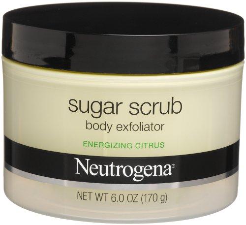 Neutrogena Sugar Scrub Body Exfoliator, Energizing Citrus, 6 Ounce -