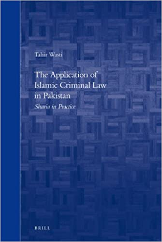 Buy The Application of Islamic Criminal Law in Pakistan