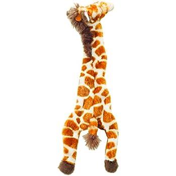Ethical 5706 Skinneeez Giraffe Stuffing-Less Dog Toy, 14-Inch