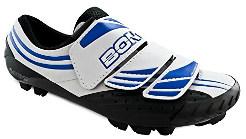 36 Bont Tamaño Blanco Zapatos De Dos Mtb Azul De Moto 1EzwAp