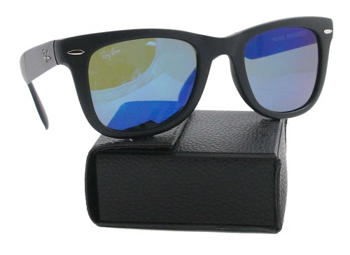 Blue Ban Green Lunette Wayfarer de 50 RB4105 Mirror Crystal soleil mm Wayfarer Folding Ray gq4nfxP4