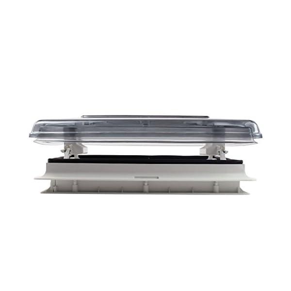 Fiamma Dachfenster Vent 50 Chrystal, 50 cm x 50 cm AuschnittmaàŸ + Deklain Dichtmittel + Schrauben