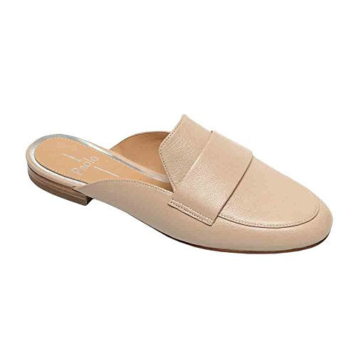 Annie Open Linea Women's Blush Paolo Back Leather On Slip Loafer Loafer 5UxxIwAr