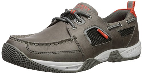 Sperry Men's Sea Kite Sport Moc Sneaker, Gray, 10.5 Wide US
