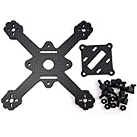 Usmile 112mm 3mm X type Micro Carbon Fiber Quadcopter Frame for Blade inductrix Tiny Whoop Kingkong 90gt upgrade