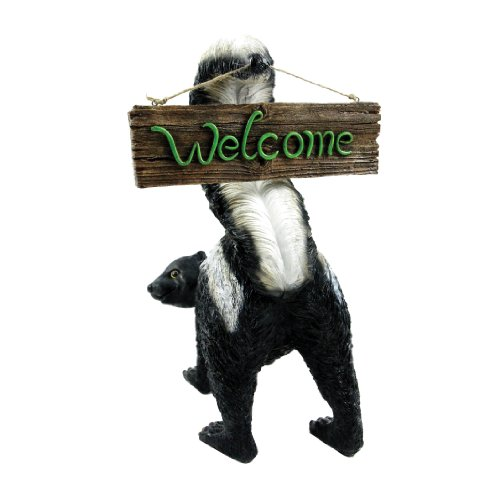 Michael Carr Designs 80056 Welcome from Stinky Outdoor Statue