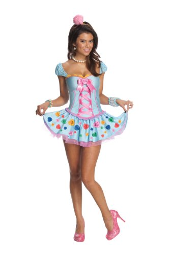 Secret Wishes Women's Sweetheart Adult Costume, Multicolor, X-Small ()