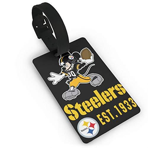 - Dalean Pittsburgh Steelers Cartoon Mouse Unisex Luggage Tag