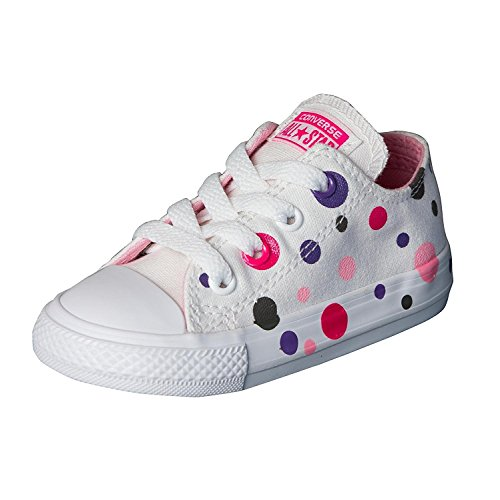Converse Chuck Taylor All Star Classic Kids Shoes, Multi, 8