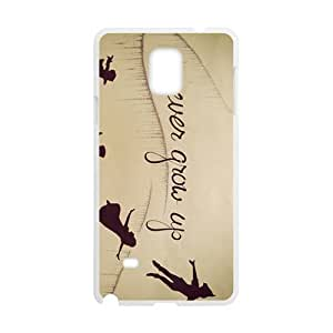 Never Grow Up Fashion Comstom Plastic case cover For Samsung Galaxy Note4