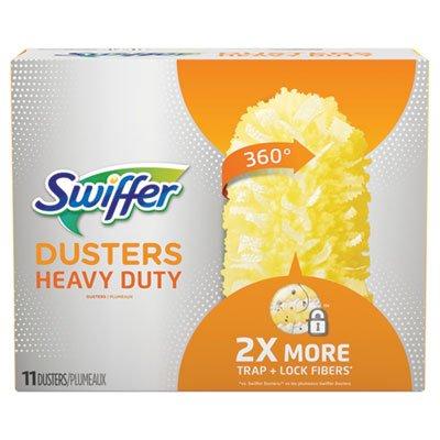 Swiffer 99035 Heavy Duty Dusters Refill, Dust Lock Fiber, 2