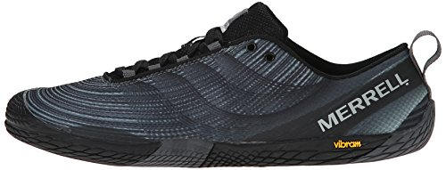 Merrell Men's Vapor Glove 2 Trail Running Shoe, Black/Castle Rock, 7 M US by Merrell (Image #5)