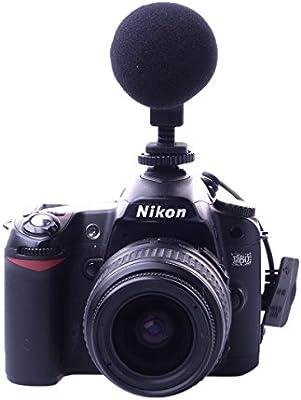 Boya BY-VM01 Mini direccional Vídeo Micrófono de Condensador para ...