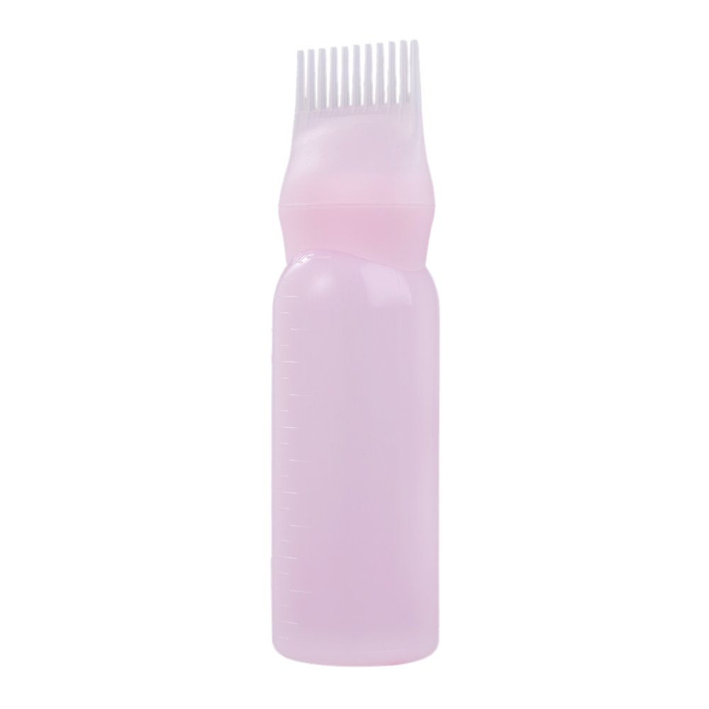 Haarfärbeflasche mit Bürste